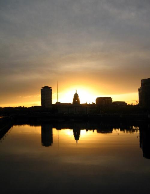 Dublin sunset