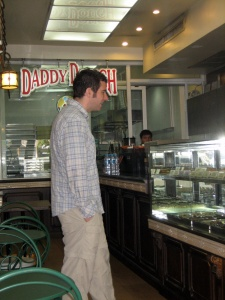mike at daddy dough