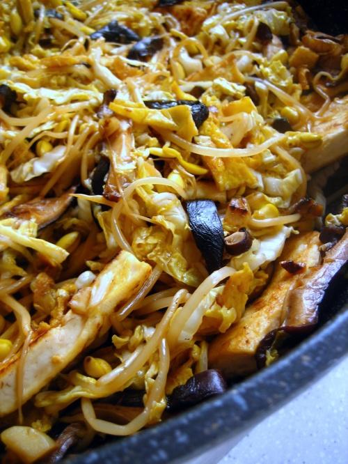 Mu Shu Tofu