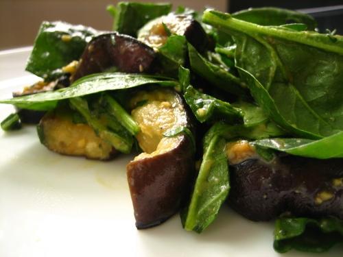 Spinach Miso Salad 2