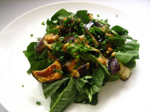 Spinach Miso Salad